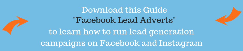 Facebook lead ads banners